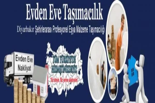Diyarbakırda Asansörlü Evden Eve Nakliyat Hizmeti